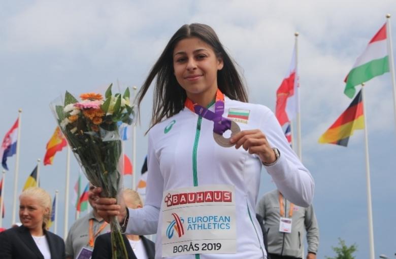 Начева е №2 сред младите спортисти за 2019 г.