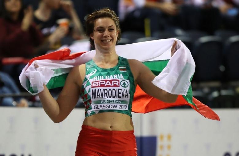Мавродиева е №9 сред спортистите на Балканите