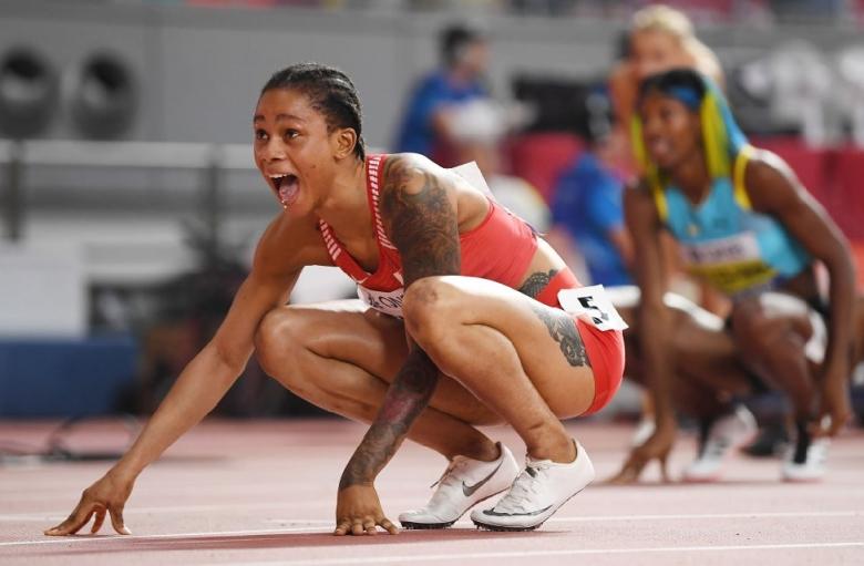 Отмениха наказанието на световната шампионка на 400 м