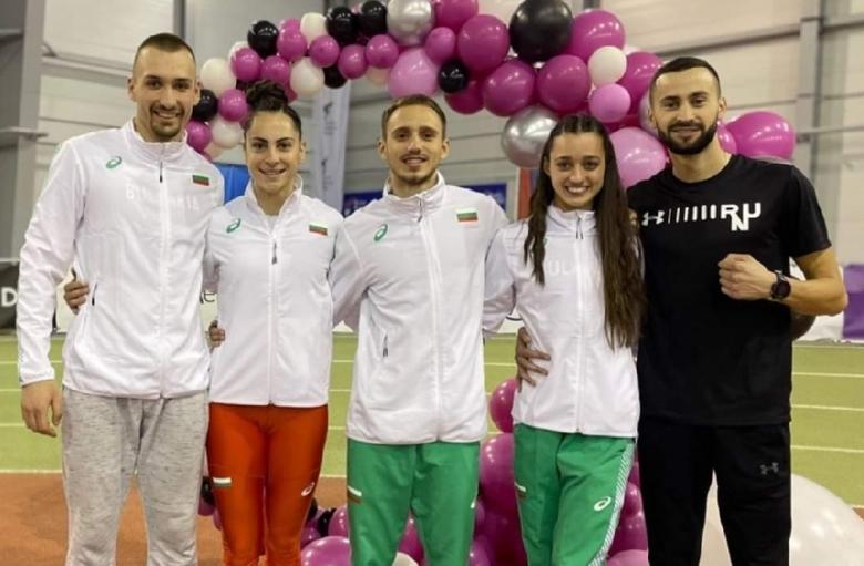 Победа с рекорд за Ценов, още два бронза за българите в Белград