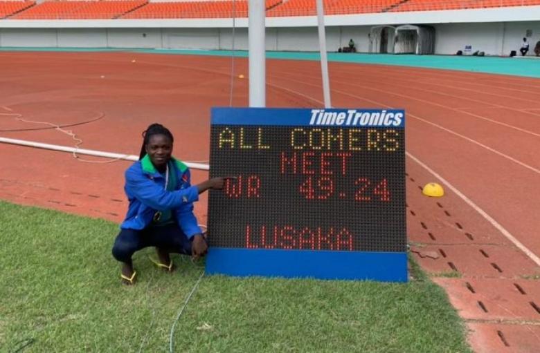Атлетка от Намибия подобри рекорда на 400 м
