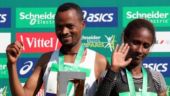 Етиопия обра победите от маратона на Париж