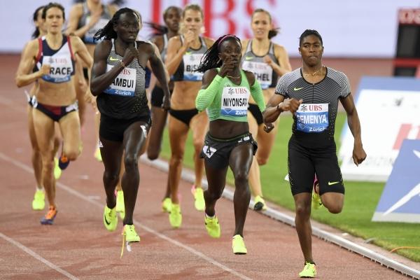 Семеня бяга 800 м на Диамантена лига