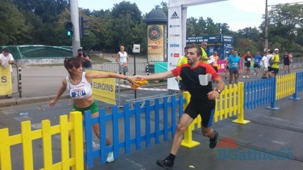 Mесец до щафетния маратон на България