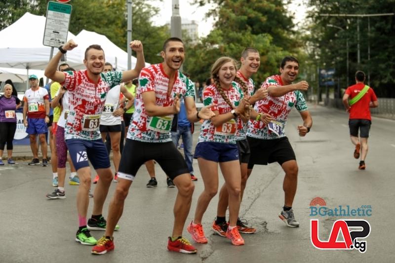 Над 100 отбора ще стартират в петък в щафетния маратон на България