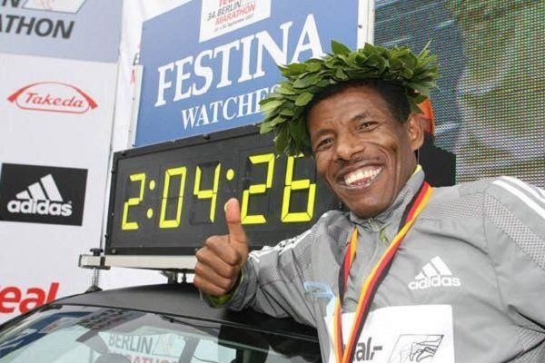 Какво е хапвал и пил Хайлето на маратона в Берлин