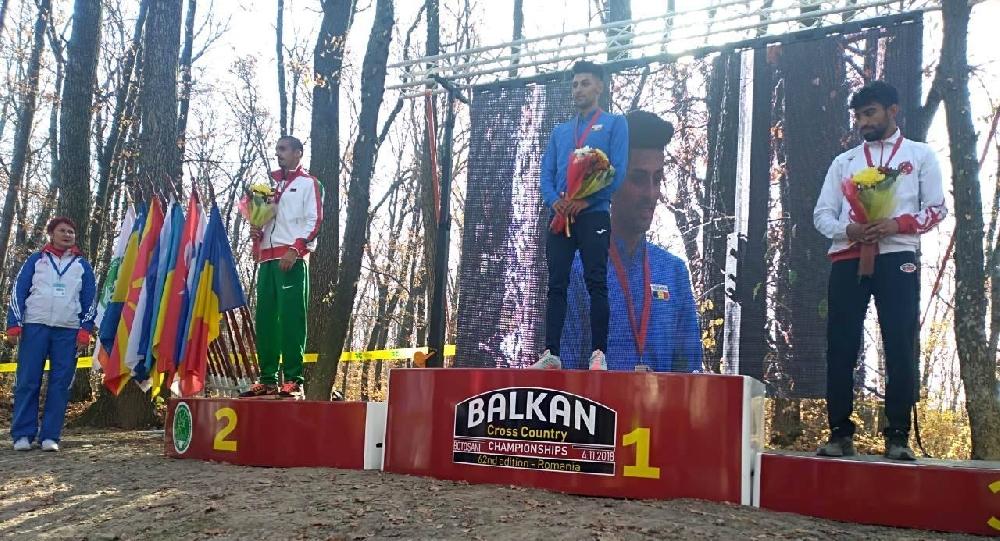 Три медала за България от балканския крос