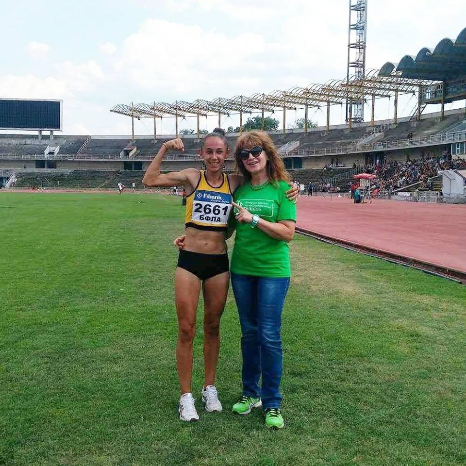 Лиляна Георгиева надбяга всички в Самоков