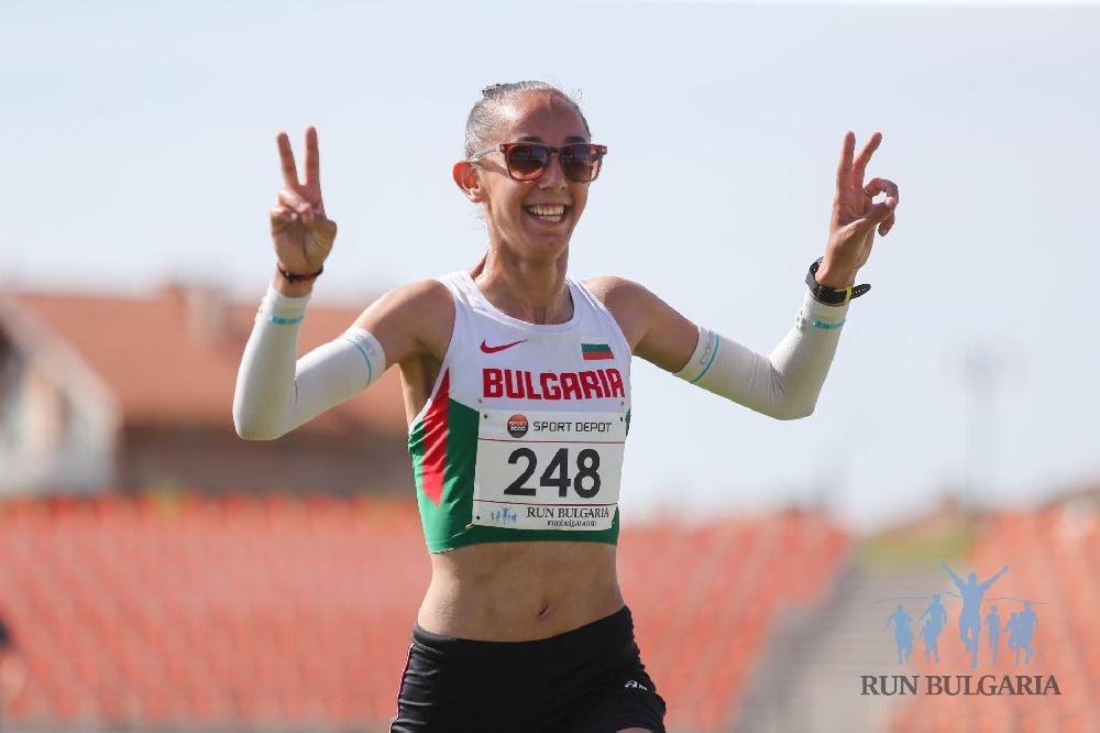 Лиляна Георгиева спечели бягането на 10 км