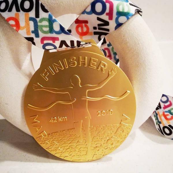 146 кг медали за Маратон Пловдив