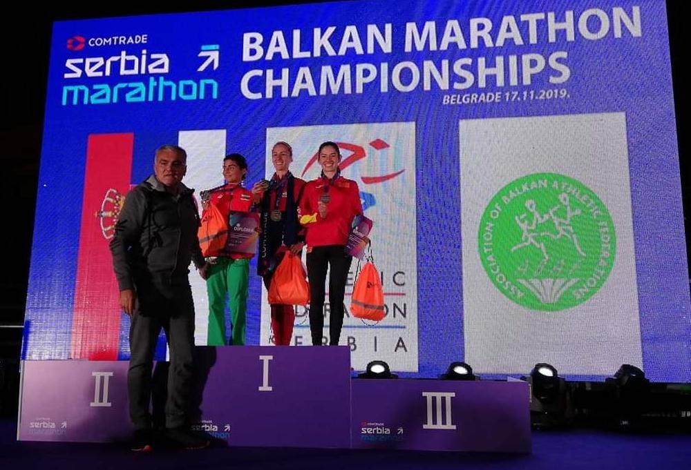 Нинева спечели второ място на балканския маратон