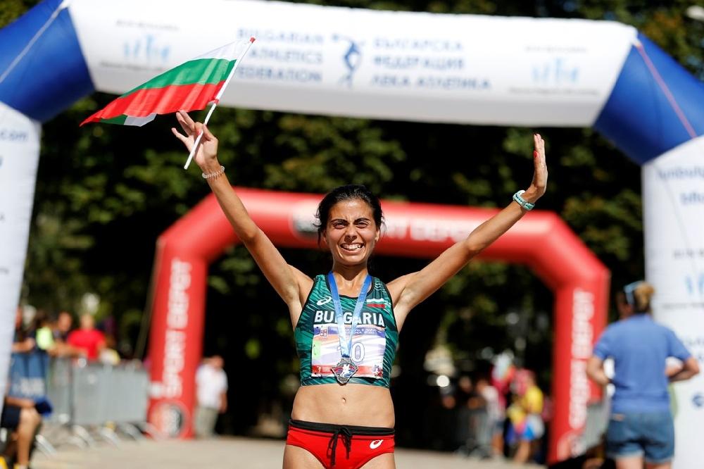 Маринела Нинева спечели маратона в Кюстендил
