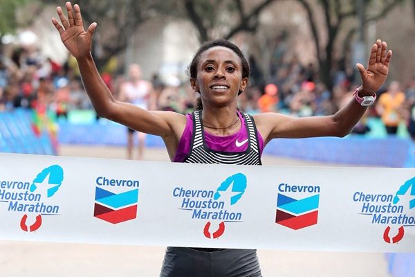 Етиопка спечели маратона на Нагоя