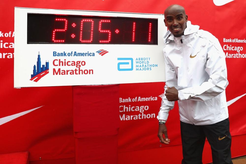 Рекорд за Фара след победа на маратона в Чикаго