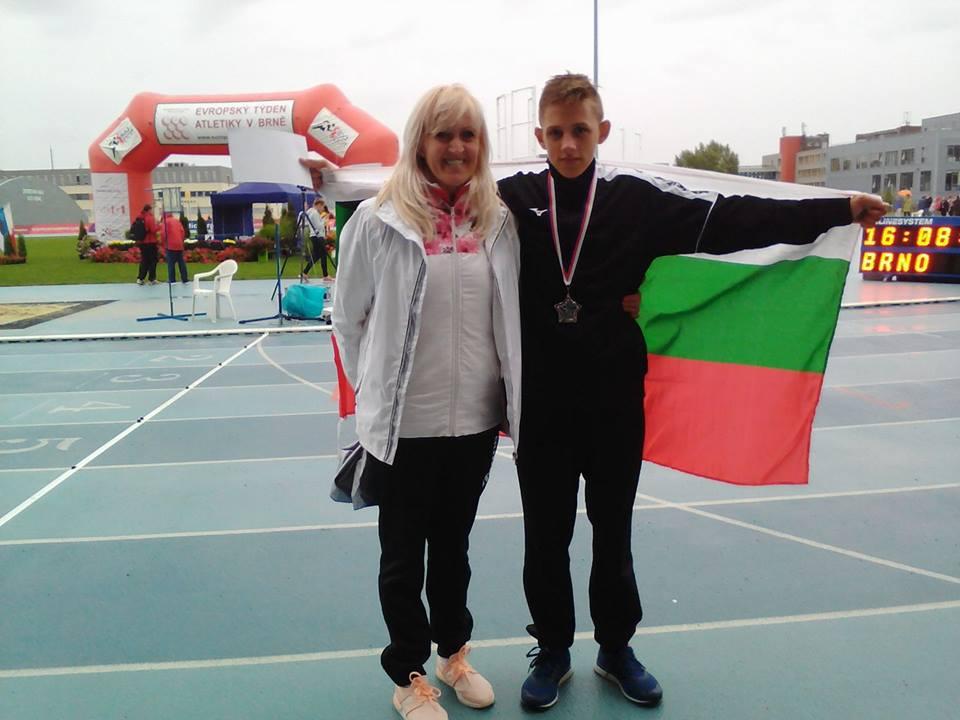 Два медала за българските атлети на Европейските игри в Бърно