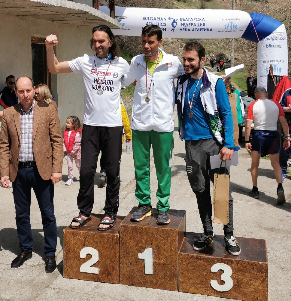 Шабан Мустафа с втора титла в планинското бягане за 24 часа