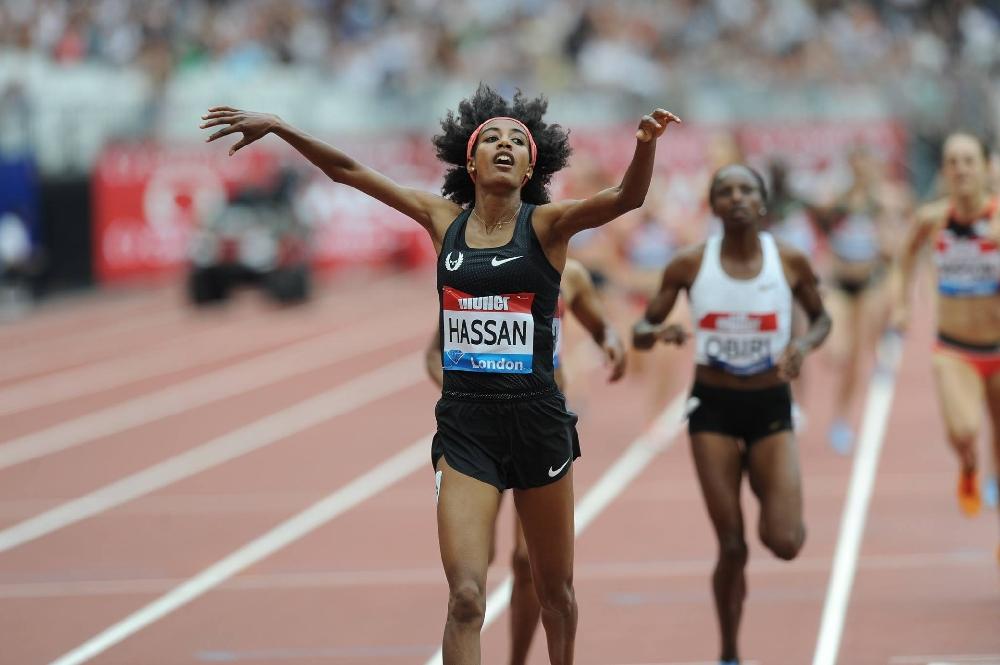 Сифан Хасан се размина със световен рекорд