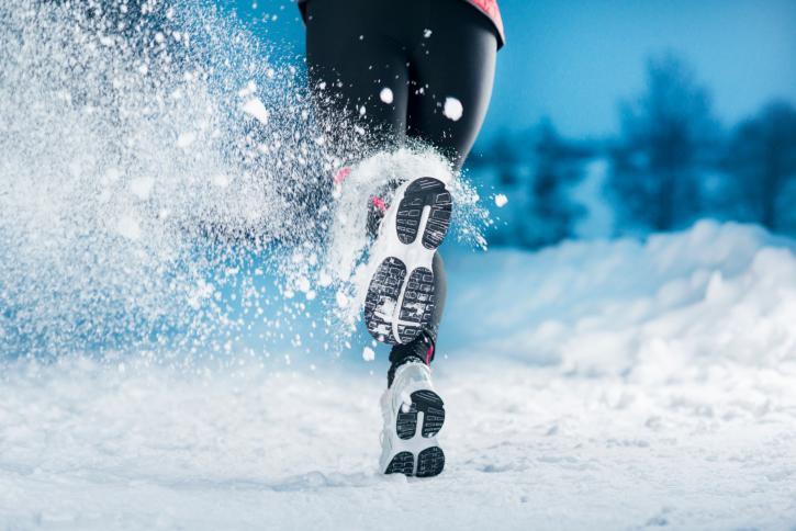 За или против  бягането в снега