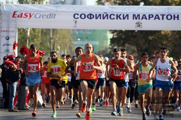 Софийският маратон стартира с рекорди