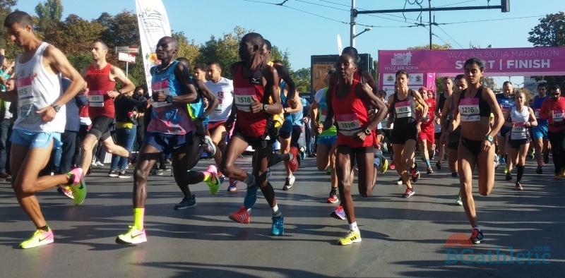 От ИААФ одобриха новото трасе на Софийския маратон