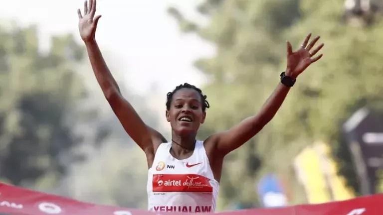 Етиопка подобри световен рекорд
