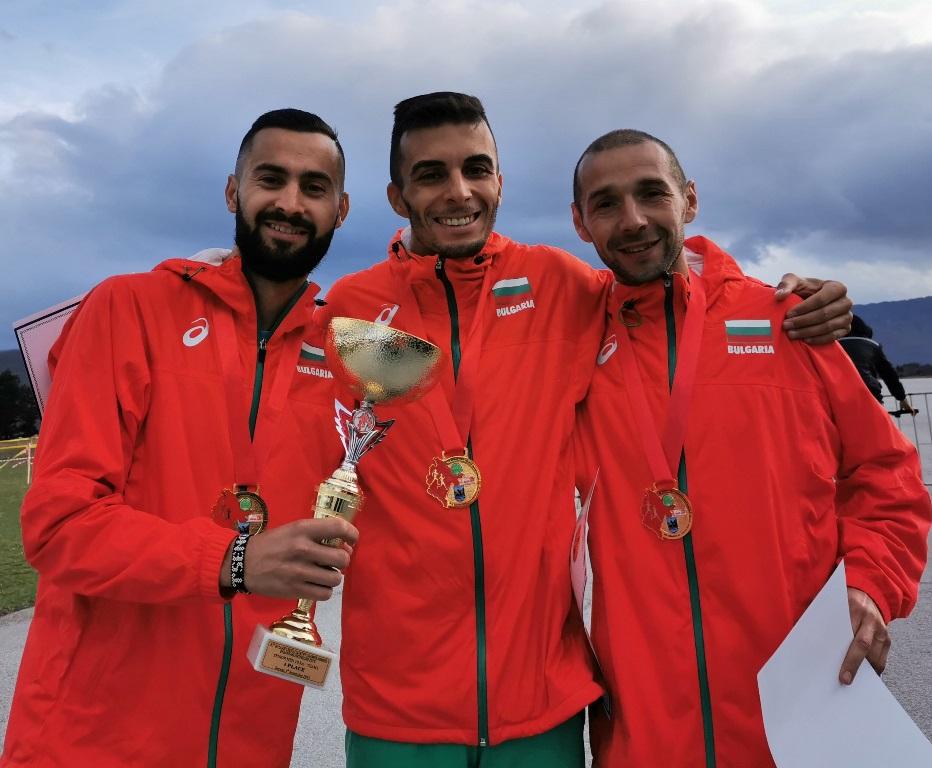 България взе отборната титла от балканския шампионат по крос кънтри