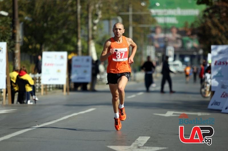 Победа за Йоло Николов в полумаратона