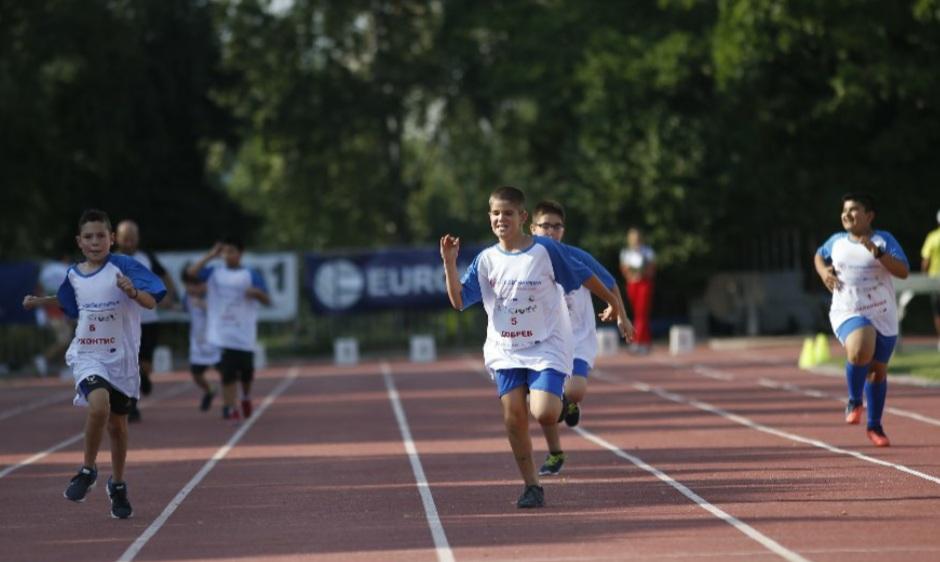 Интегриран старт на атлетически турнир Нови звезди