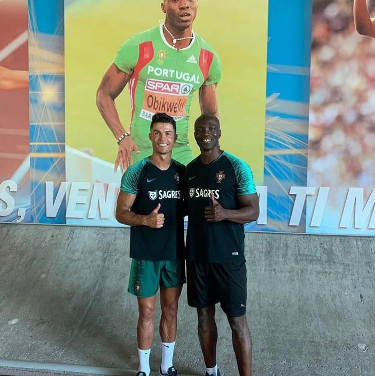 Роналдо тренира при европейски шампион в спринта