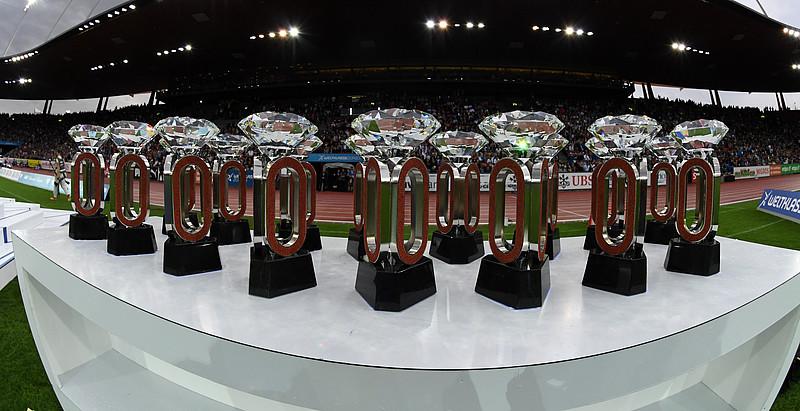 Всички носители на трофеи от Диамантената лига в Брюксел