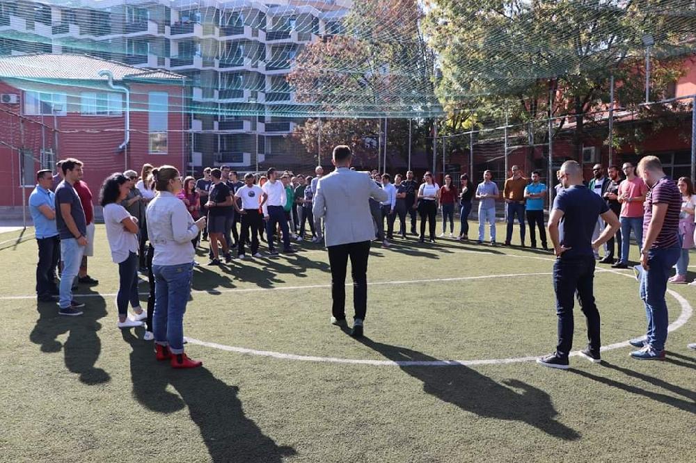 Силен старт на Спортна дипломатическа академия в София