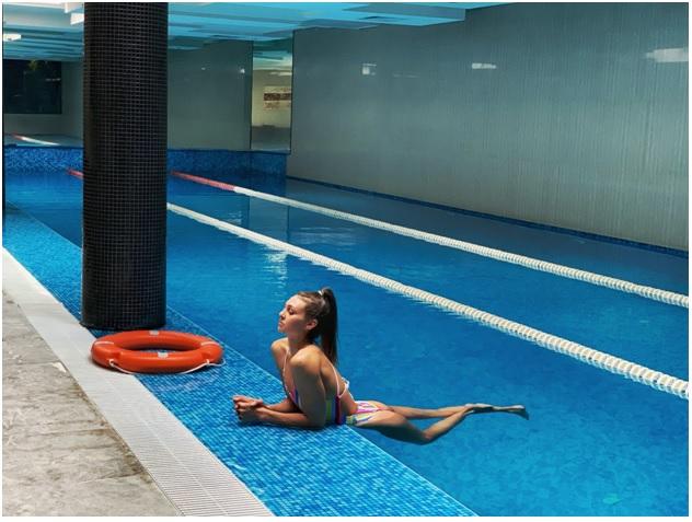 Плувкинята Габриела Георгиева се подготвя за Олимпиадата в Токио