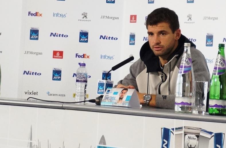 Григор Димитров пред Tennis24.bg: Не съм забелязал да съм станал по-висок тази седмица