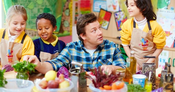 Правилата на Джейми Оливър за детското хранене