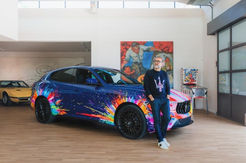 Maserati среща Massimo Bottura: експлозия на креативността