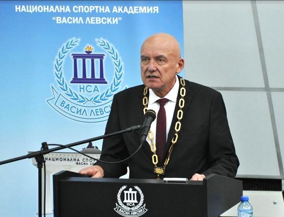 Проф. Николай Изов е новият ректор на НСА Васил Левски