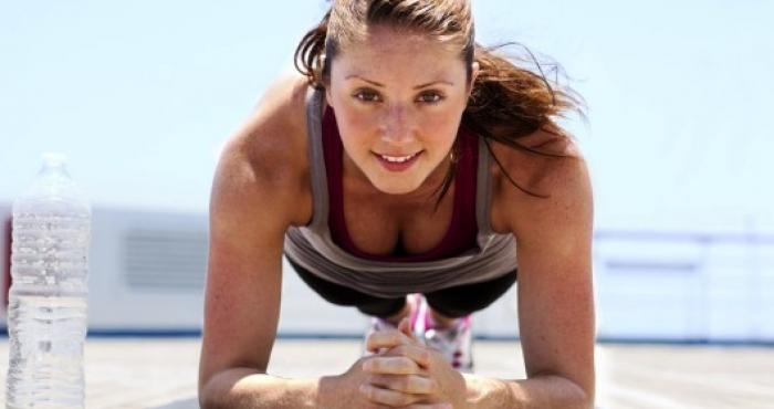 Планкът - любимо упражнение
