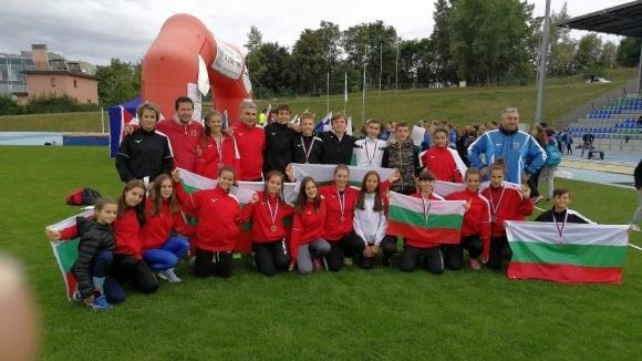 Младите варненски атлети взеха 4 медала в Бърно