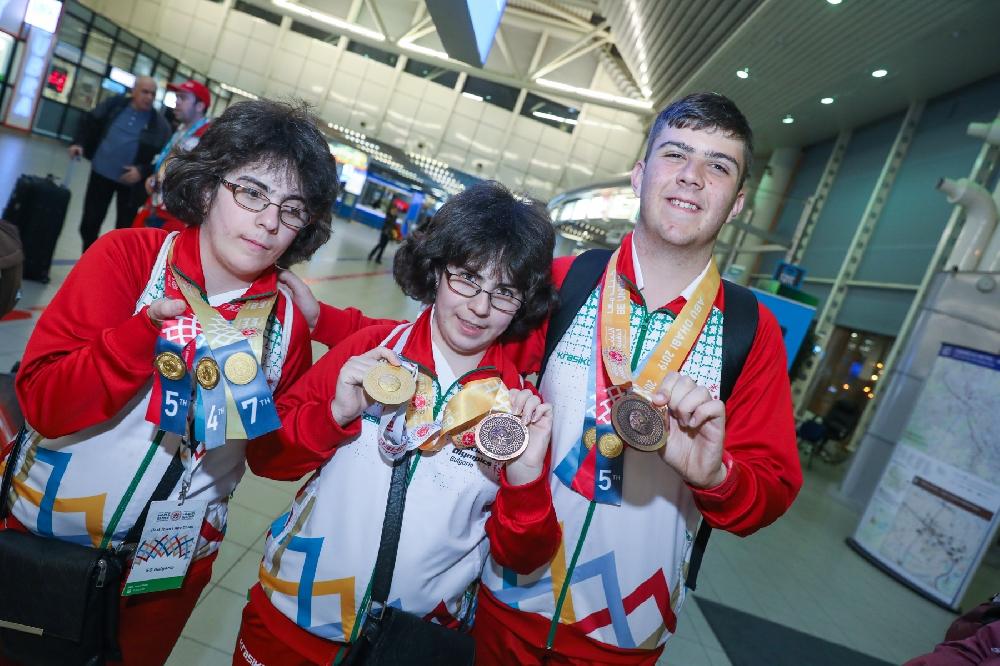 19 медала за българите на Спешъл Олимпикс