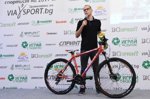 №1 при младите отново с велосипед от Sprint