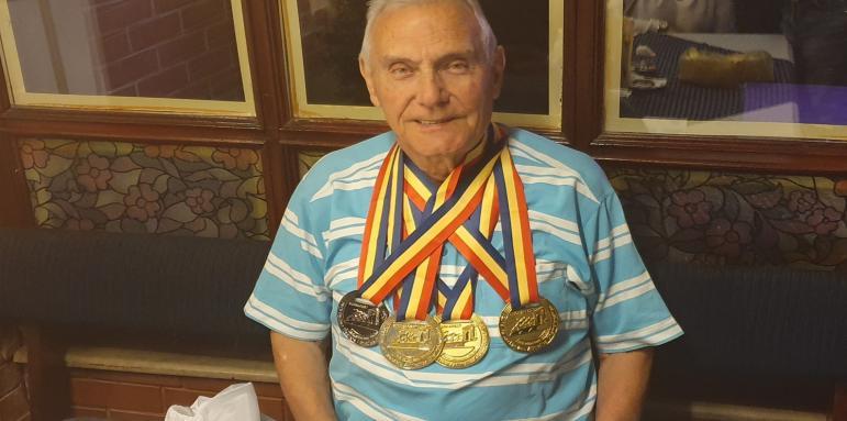 Тодор Дончев с четири медала от Балканиадата в Букурещ
