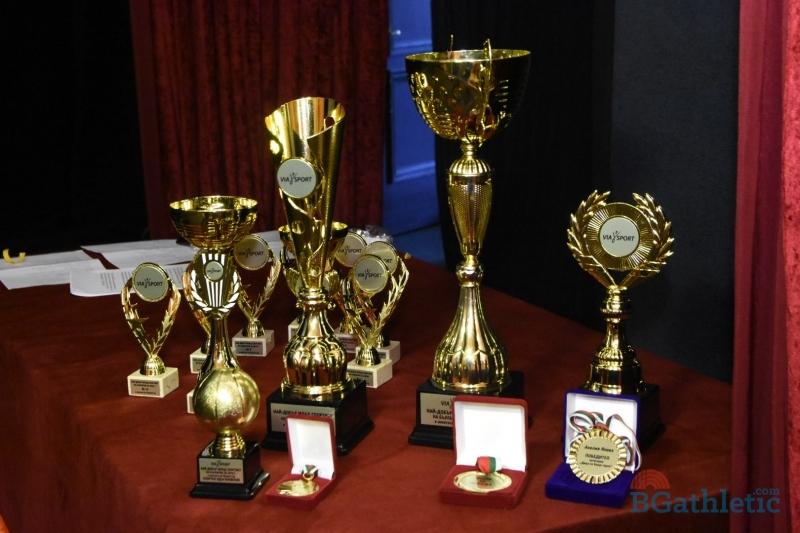Фотогалерия от награждаването за Най-добър млад спортист