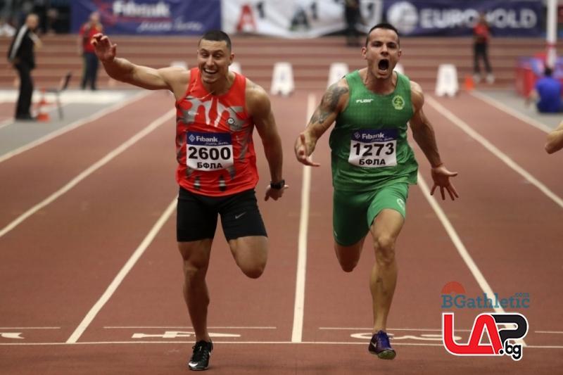 Денис Димитров затвърди реноме на най-бърз българин