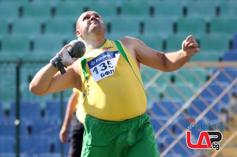 Георги Иванов се окичи с десета титла на България