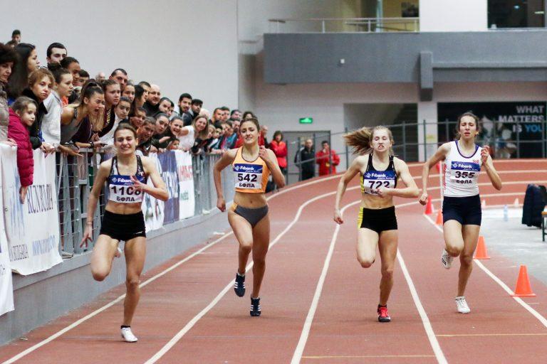Пловдивчанка е най-титулуваната атлетка