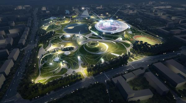 Китай с ново спортно бижу