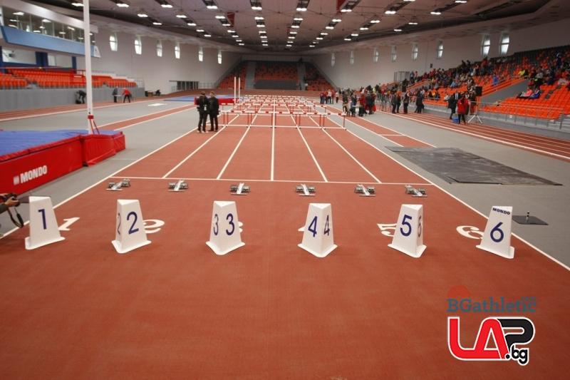 'Асикс Арена' посрещна атлетите светла и топла