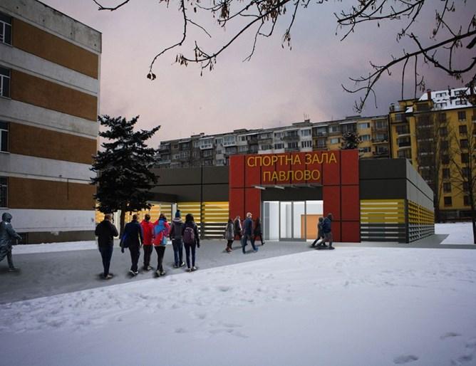 Правят шест спортни зали в столични училища
