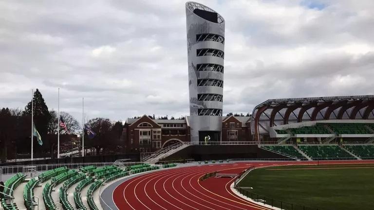 Готов е стадионът за световното първенство в Орегон