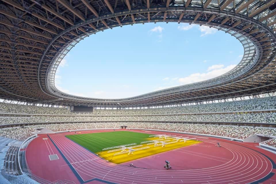 Олимпийското бижу в Токио - снимки